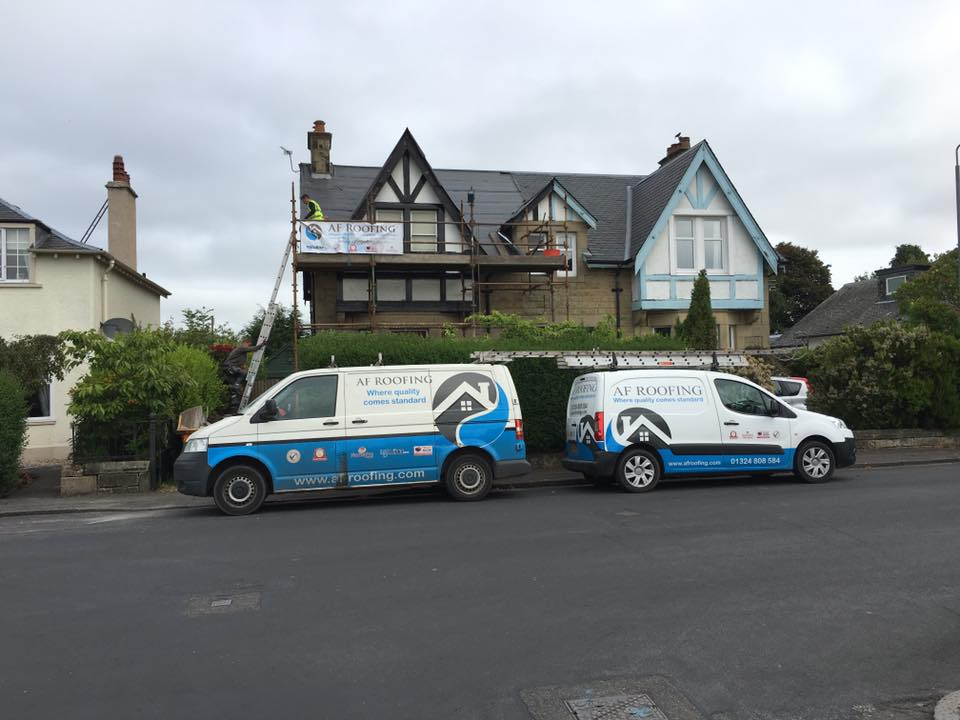 Home 2 roofing company Edinburgh